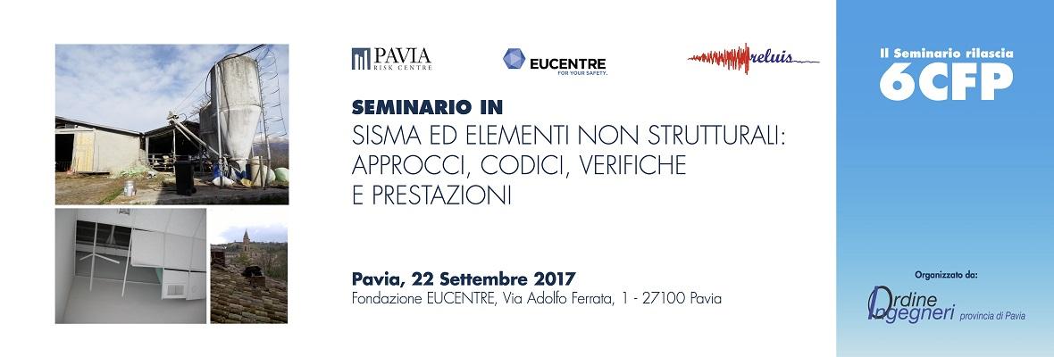 Fondazione Eucentre - Sisma ed elementi non strutturali approcci, codici, verifiche e prestazioni
