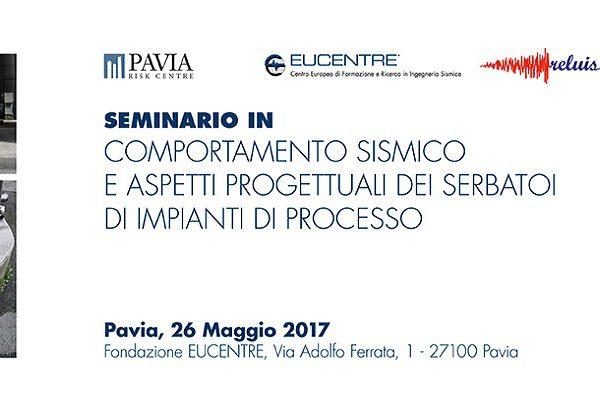 Fondazione Eucentre - Comportamento sismico e aspetti progettuali dei serbatoi di impianti di processo