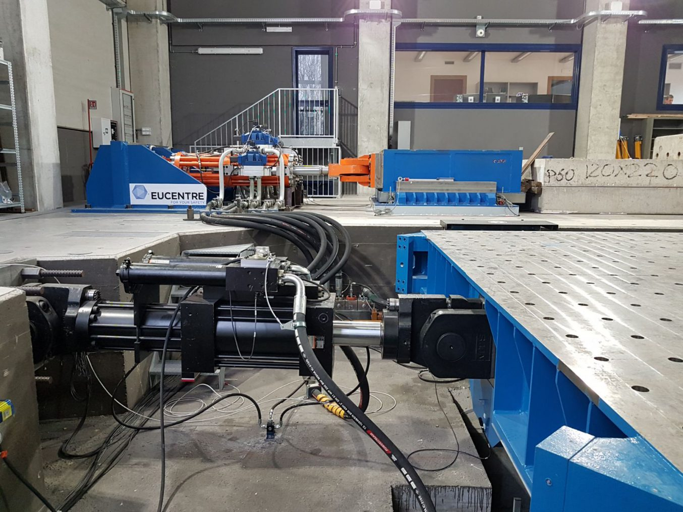 Department of Industrial Products - Fondazione Eucentre - European Centre For Training And Research in Earthquake Engineering - Italy - Dipartimento Prodotti Industriali