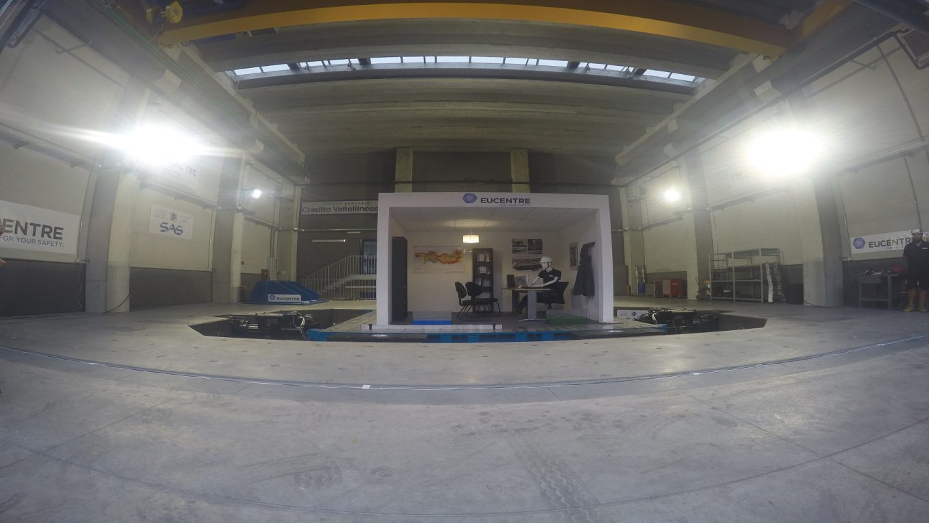 Fondazione Eucentre European Centre For Training And Research in Earthquake Engineering Pavia, Lombardia, Italy - 6dLab