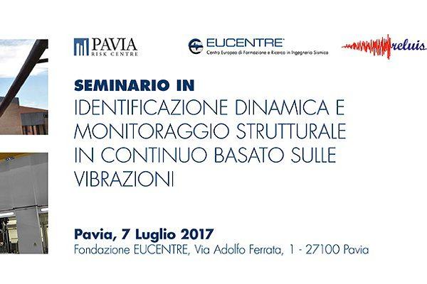 Fondazione Eucentre - Identificazione dinamica e monitoraggio strutturale in continuo basato sulle vibrazioni | Calendario Eventi