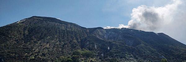 Eucentre supporta il Dipartimento della Protezione Civile sull'isola di Vulcano