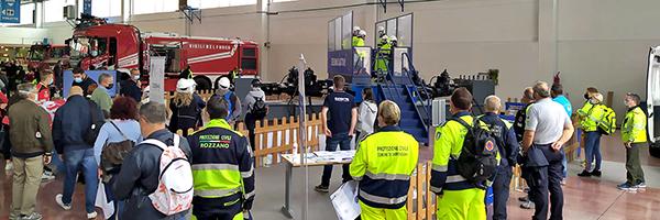 Oltre 1.300 persone hanno provato SEISMULATOR al 20° Salone Internazionale dell'Emergenza